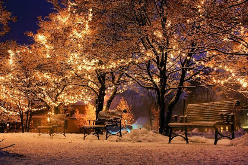 karácsony, tél