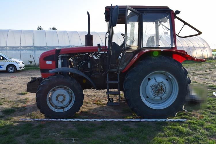 traktorral