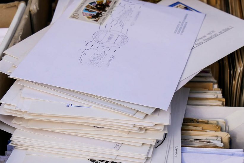 posta, levél, elektronikus