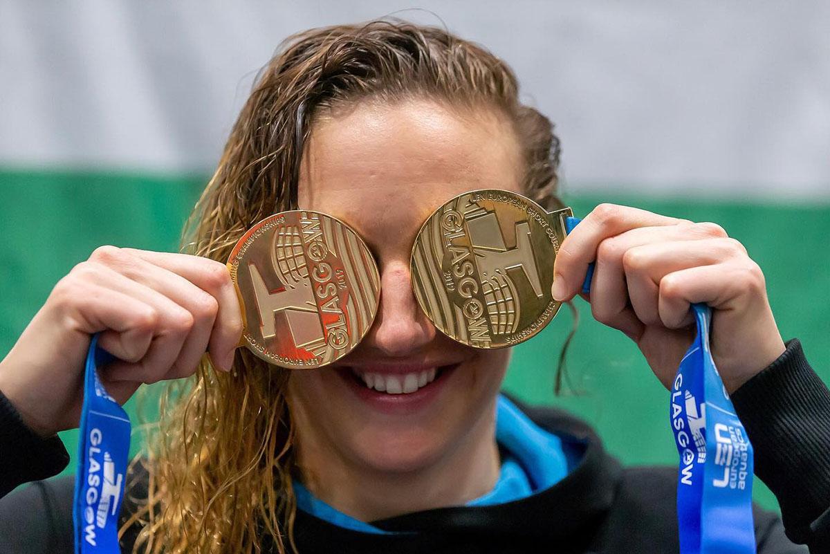 Hosszú Katinka lett az elmúlt év legjobb európai női sportolója