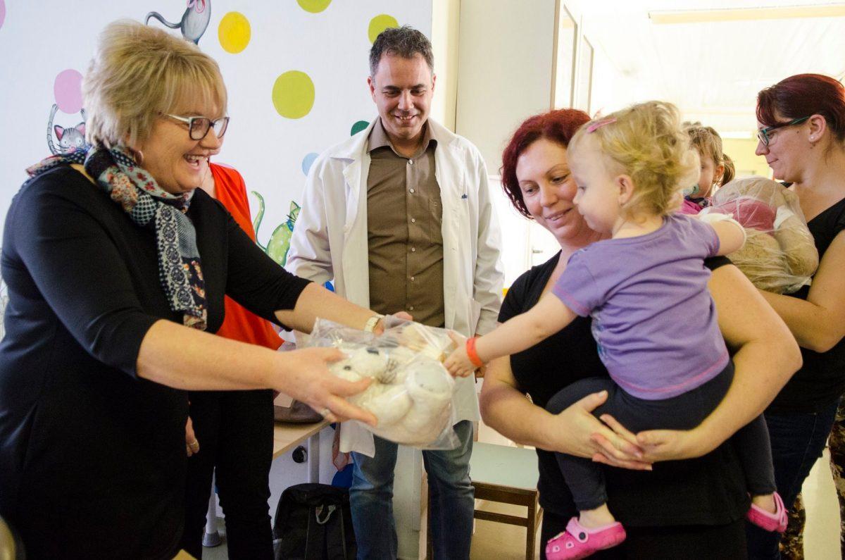 Az Orosházi Kórház is csatlakozott a Maci Kórház programhoz