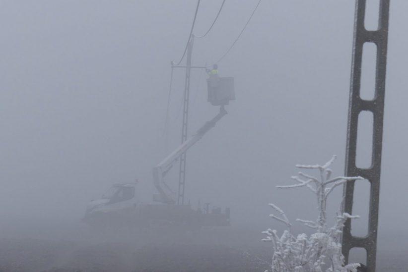 tél, áram, Békés megye