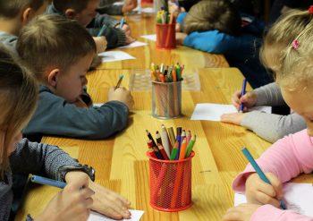rajz, gyerek, kisiskolás, óvodás
