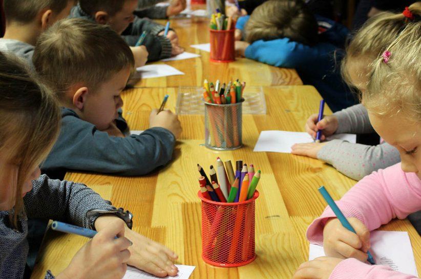 látogatási, rajz, gyerek, kisiskolás, óvodás