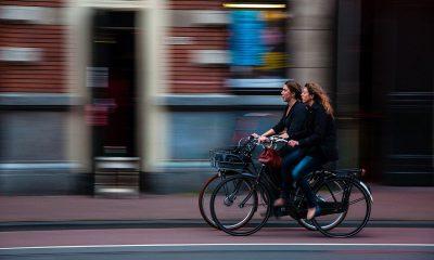 kerékpárosok, békés, kerékpározás, bicikli, közlekedés