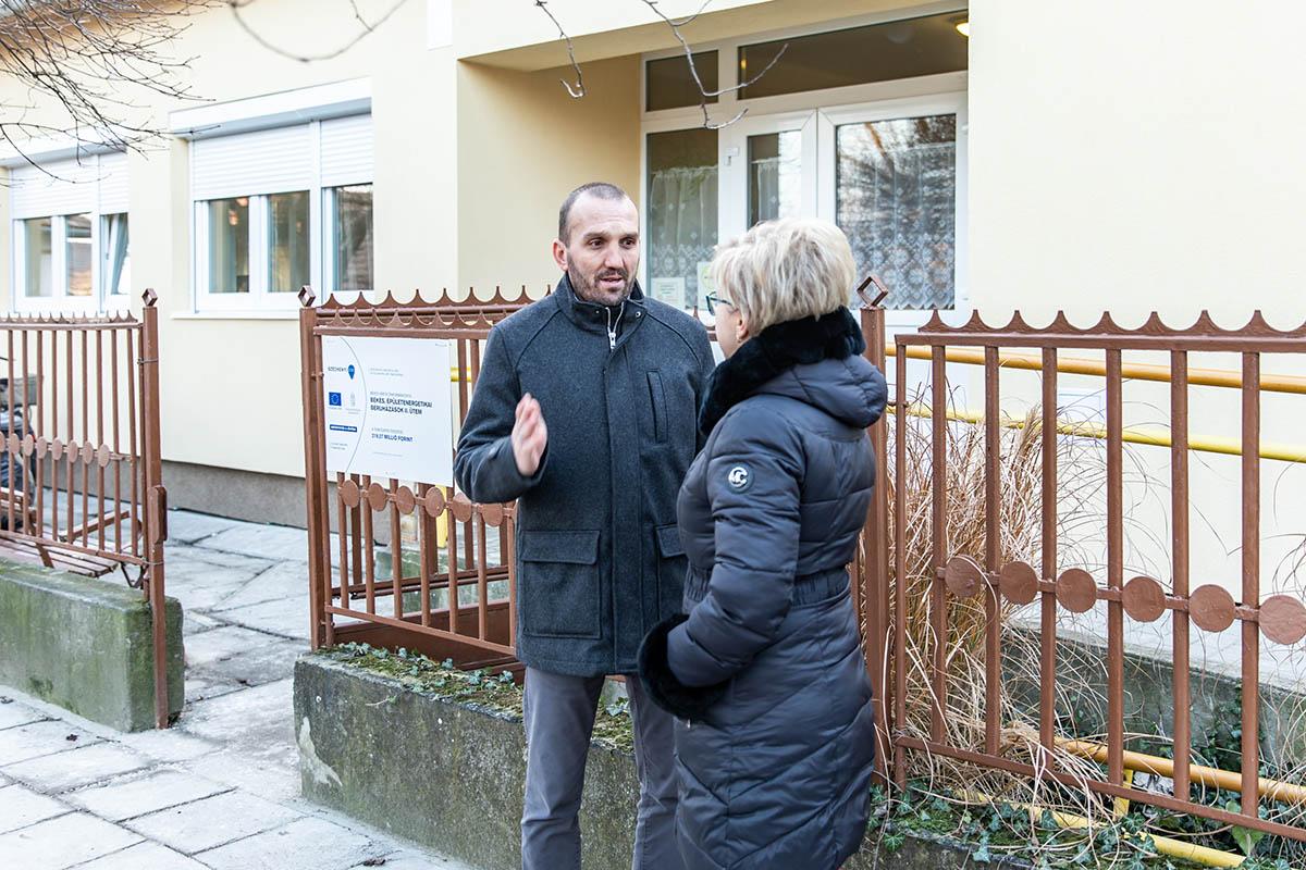 Modernizálódott a békési Dózsa utcai Idősek Klubja