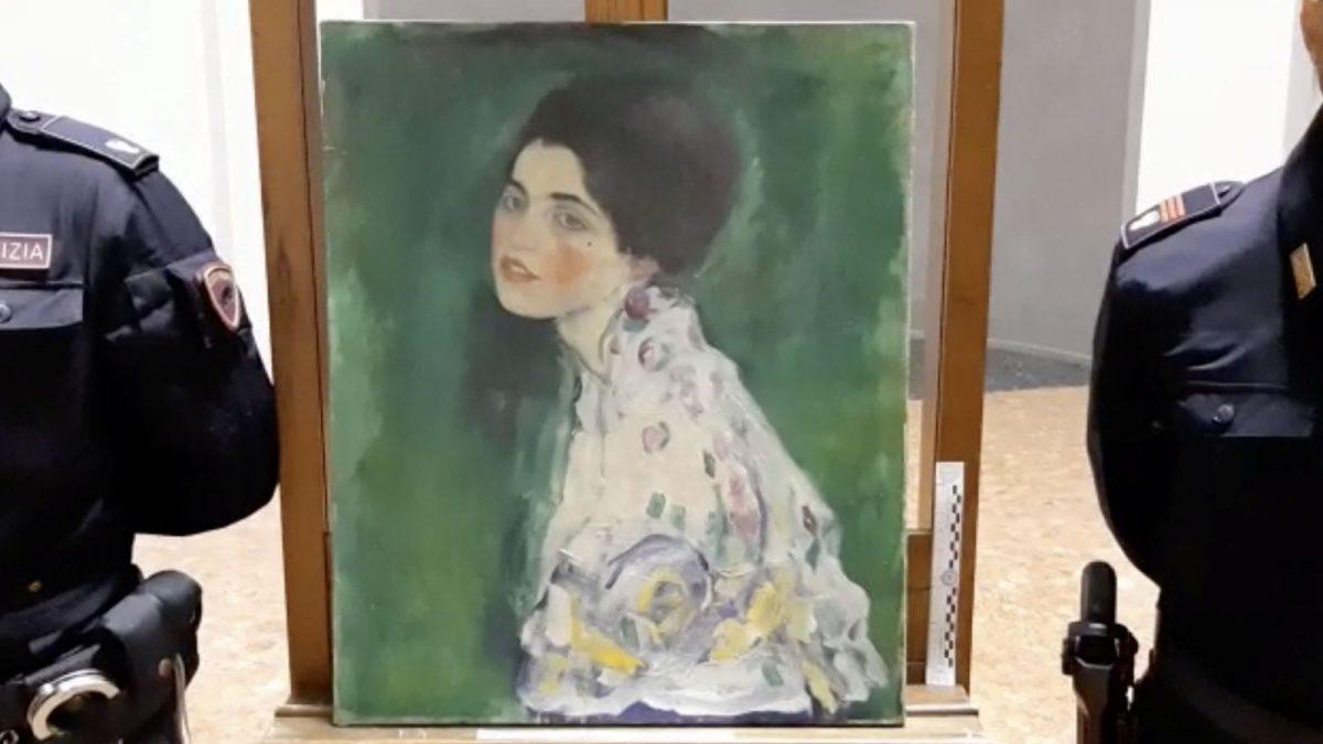 A tolvajok jelentkeztek és visszaadták a 23 éve ellopott Klimt-képet