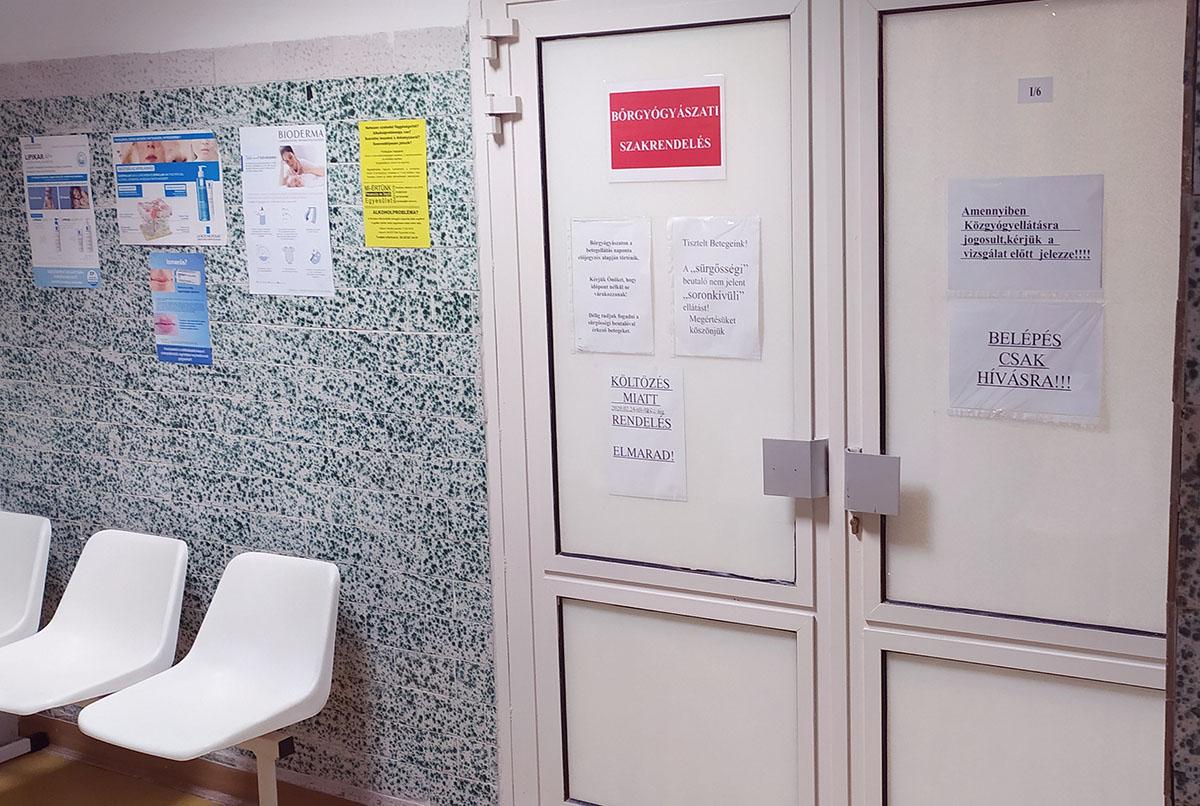 Új helyen a bőrgyógyászat, a költözés idején szünetel a rendelés Orosházán