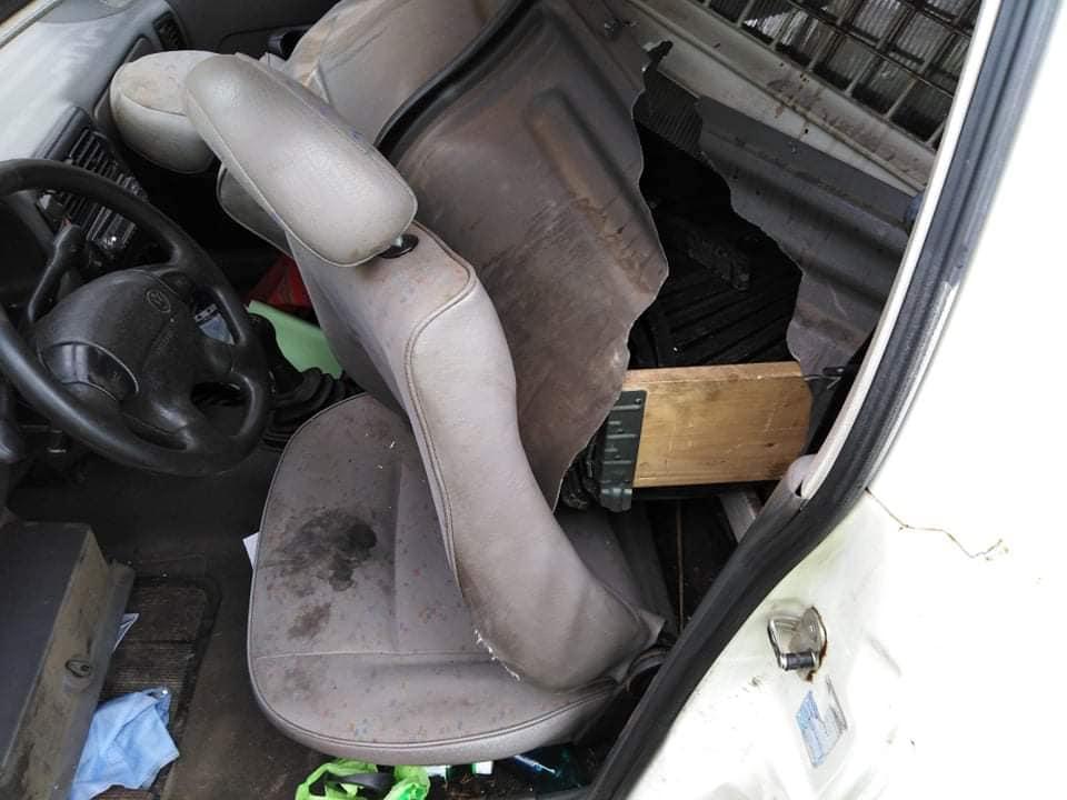 baleset Doboz közelében