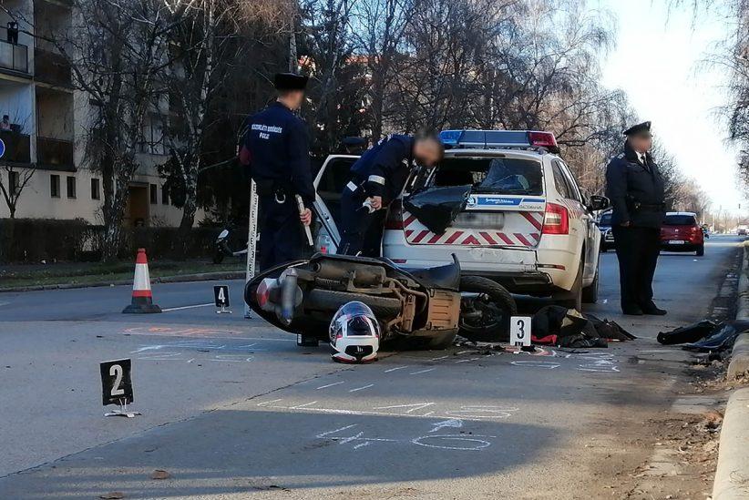 motoros baleset, Békéscsab