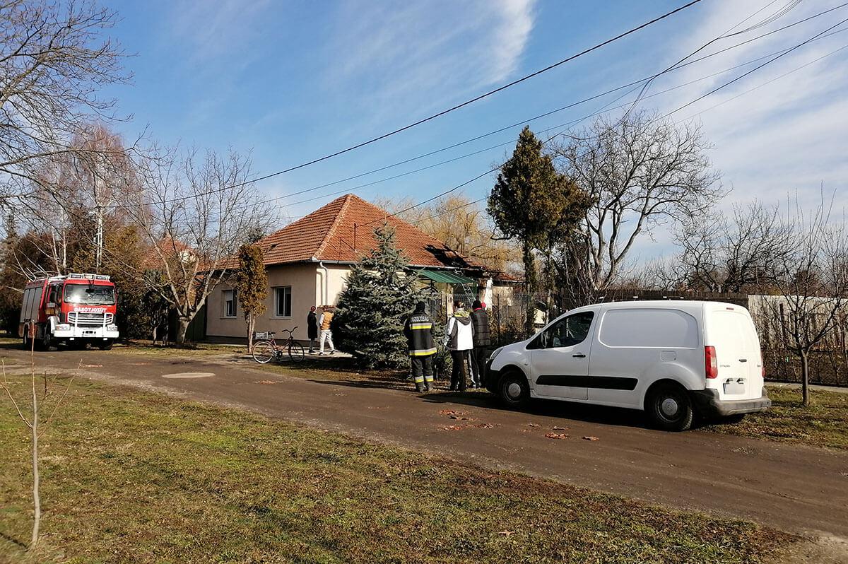 Tűz volt egy békéscsabai lakóházban