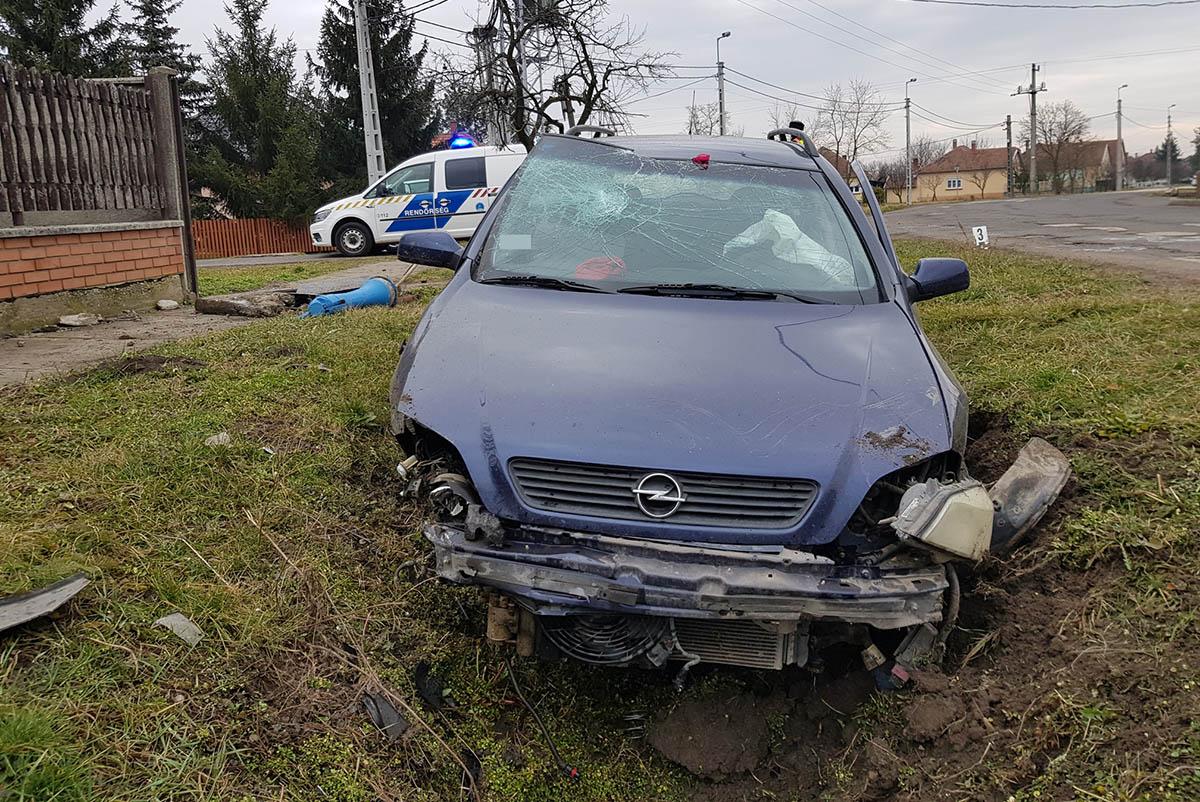Orosházán, Vésztőn, Dobozon, Sarkadon és Gyulán történt baleset