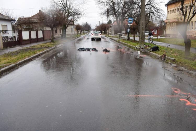 Baleseteknél és ittas járművezetés gyanúja miatt intézkedtek a megye rendőrei