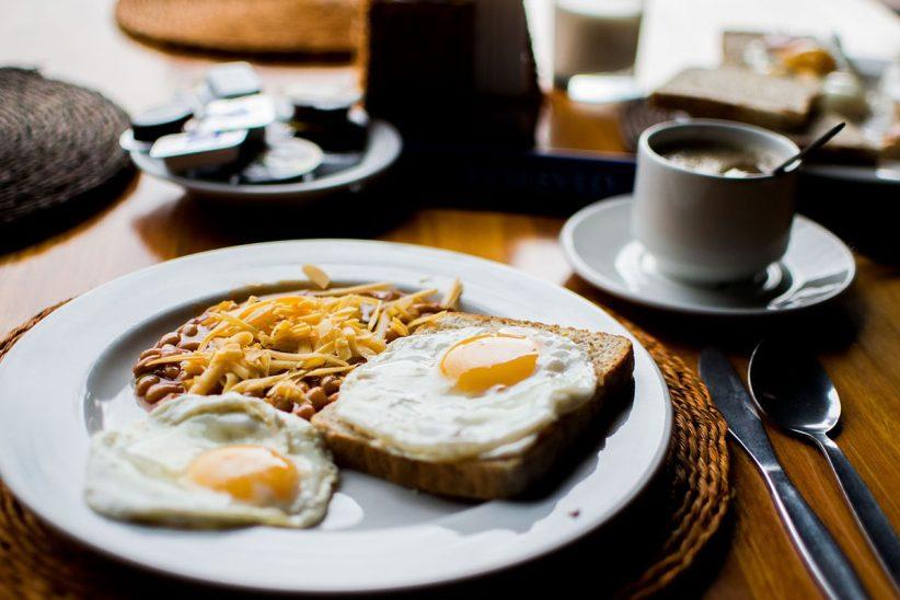 reggeli, étel, kaja