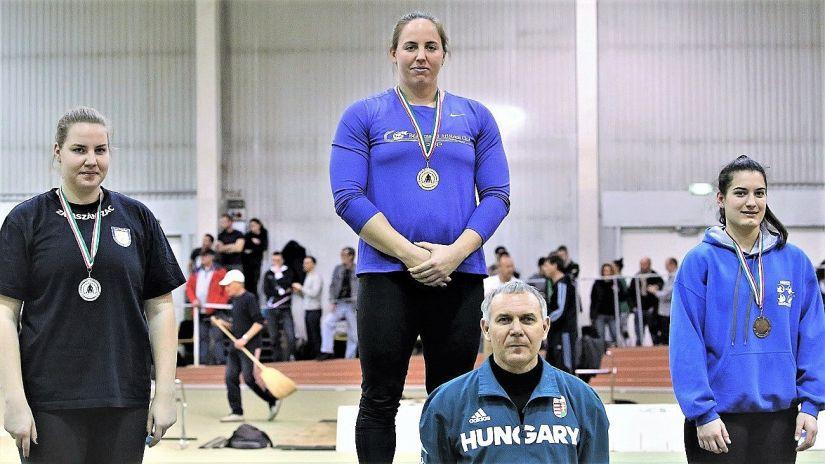 A Békéscsabai Atlétikai Club megszerezte az év első országos bajnoki aranyát