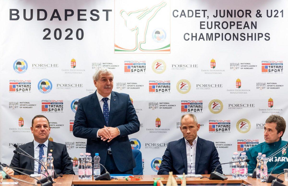 Egész Európa eljön a budapesti karate Eb-re