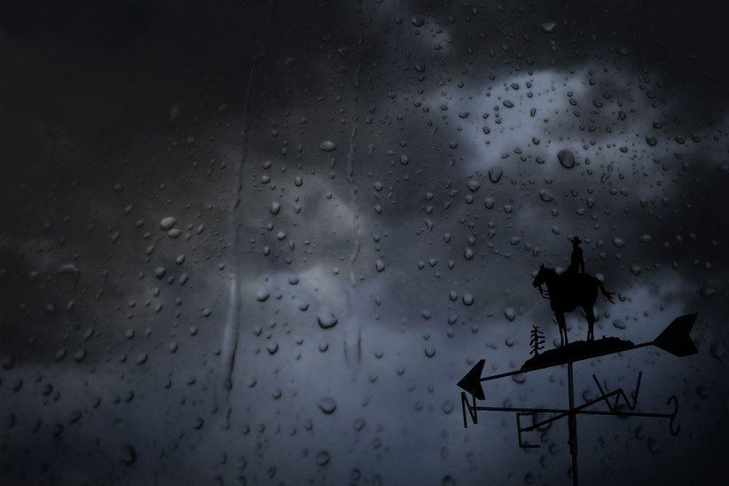 Másodfokú, szél, vihar, eső, havazás, záporok