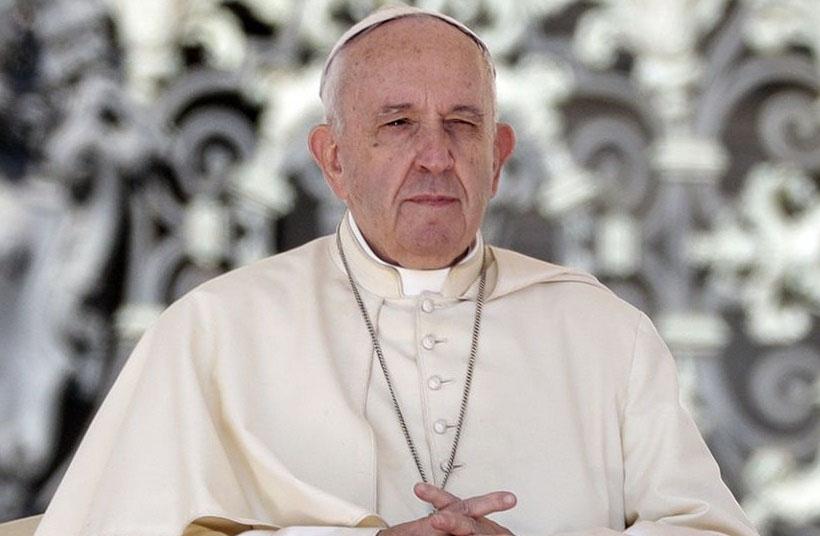 A járvány sújtotta országokért imádkozott Ferenc pápa