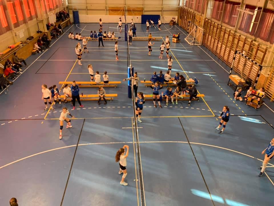 Töretlen népszerűségnek örvend a röplabda az Erzsébethelyi Általános Iskolában