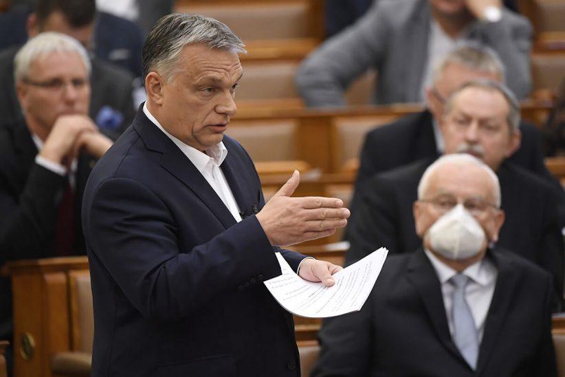Orbán, koronavírus, kijárási