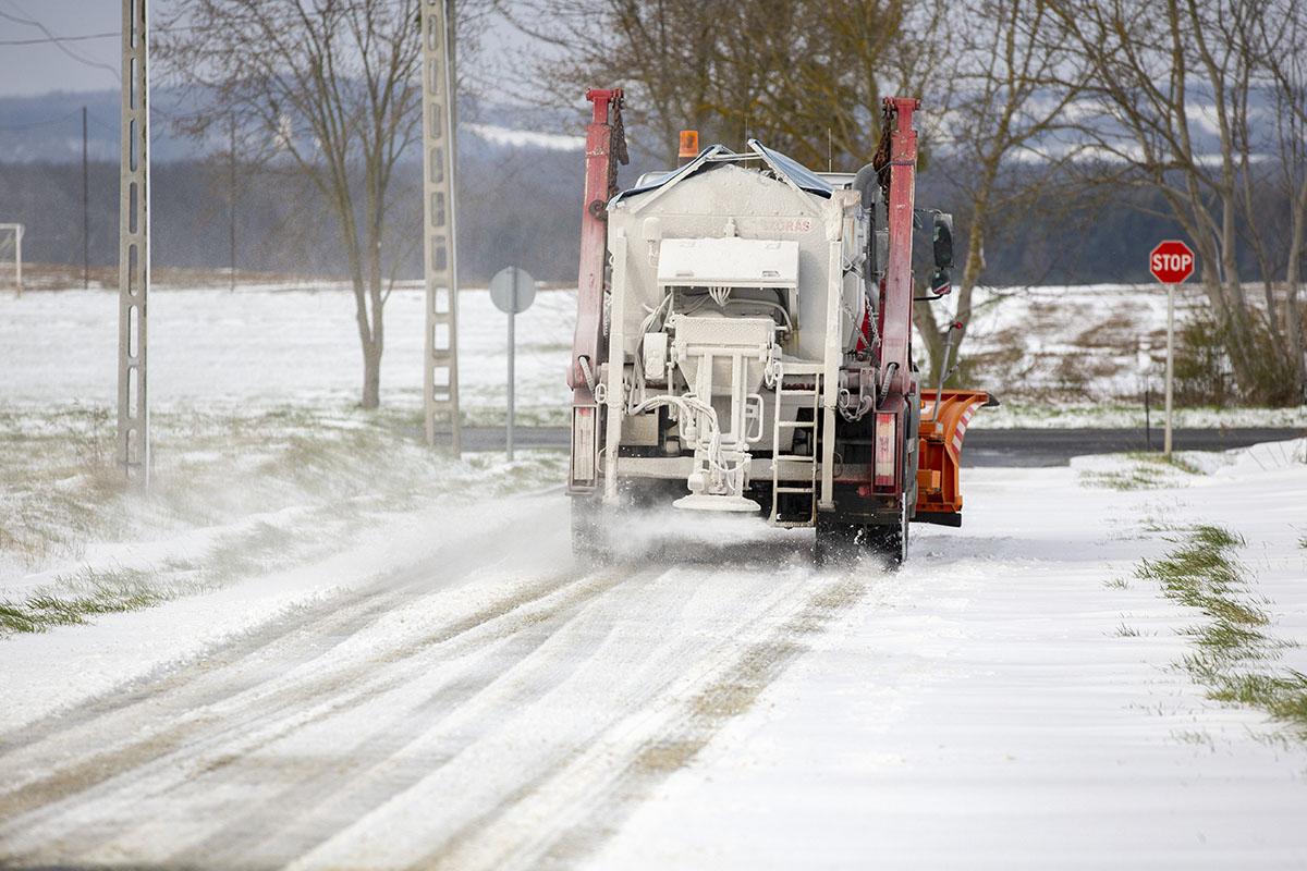 Északkeleten több mint 5 centiméternyi hó is hullhat