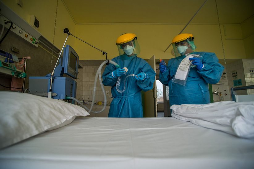 fertőzöttek, koronavírus, járvány, korona