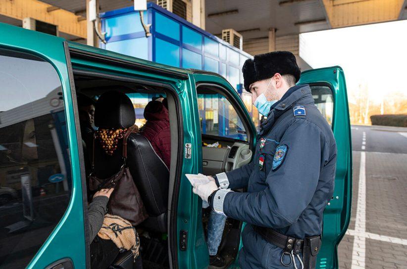 rendőrség, határ, kijárási