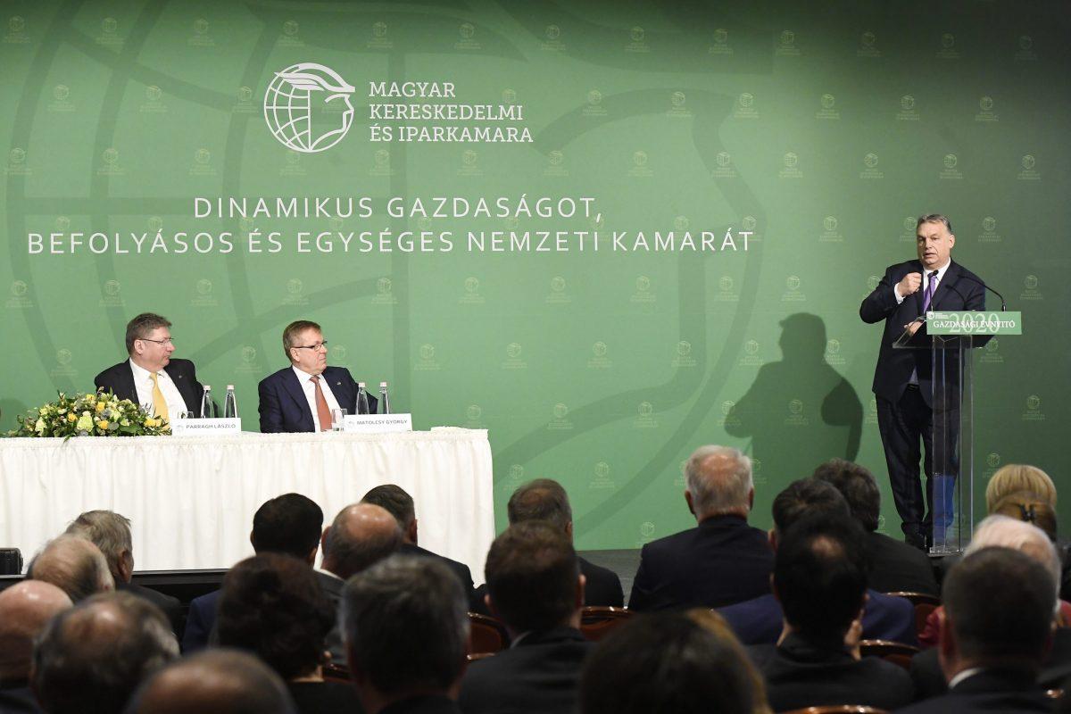Gazdasági Évnyitót tartott a Magyar Kereskedelmi és Iparkamara