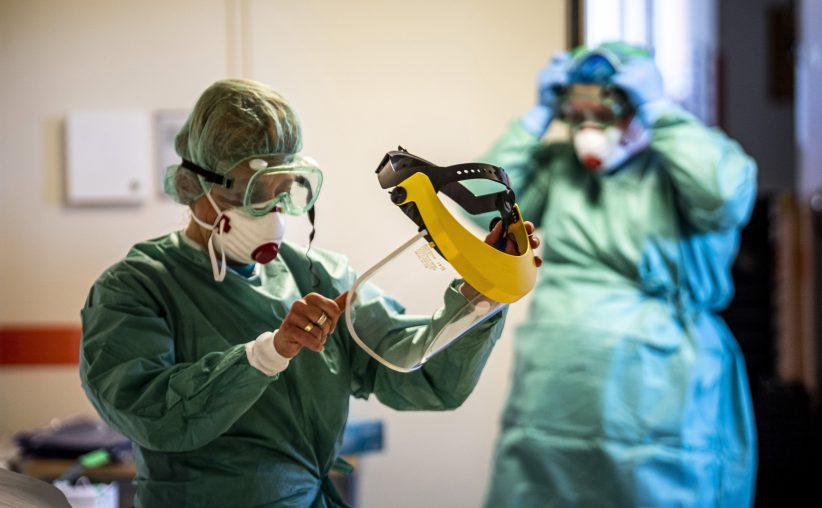 Spanyolországban, koronavírus, fertőzöttek