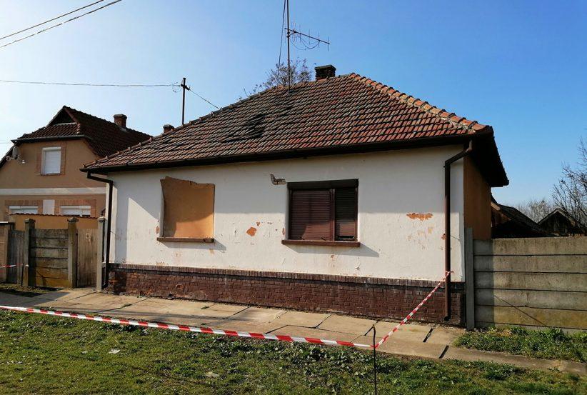 robbanás Gyulán, felrobbant gázpalack, Gyula