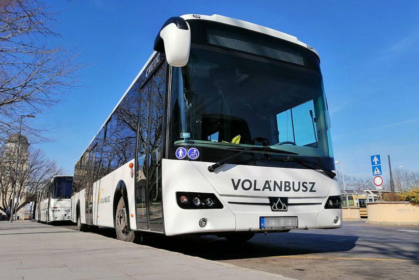 Volánbusz, közlekedési, járványügyi, volánbusz, busz, szájmaszk