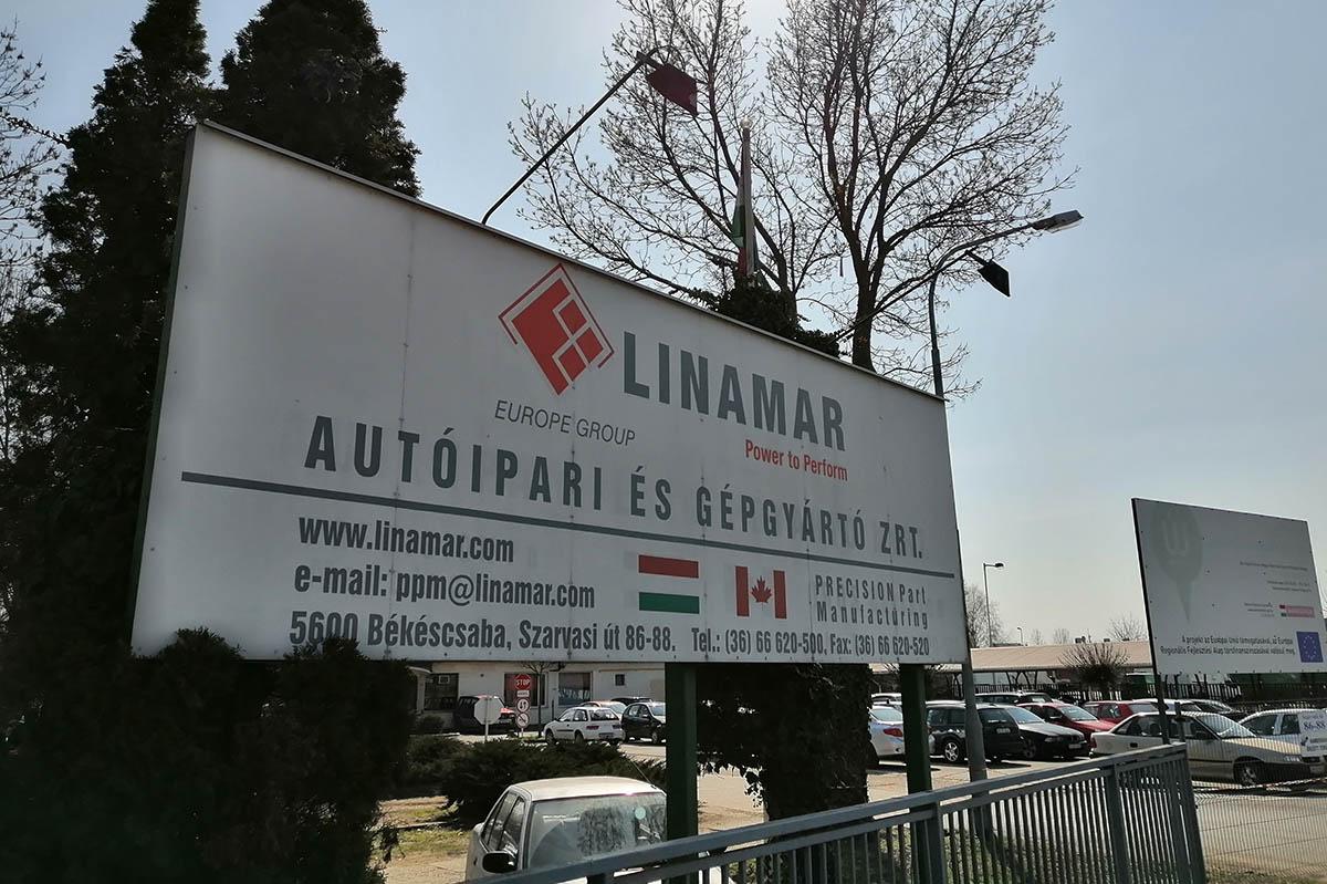 Mindhárom telephelyén leállítja a termelést a Linamar