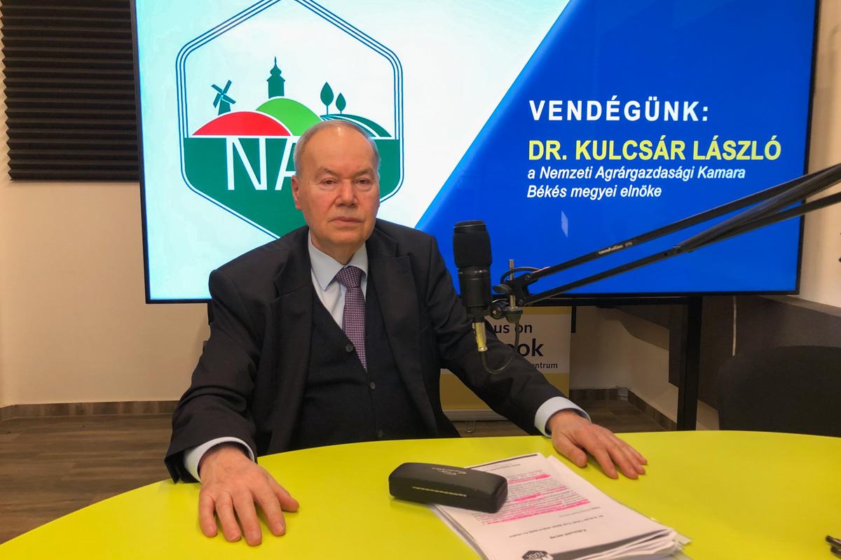 Dr. Kulcsár László: Izgalmas évet zárhatott az agrárium