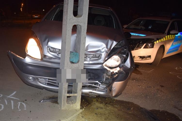 baleset Battonyán