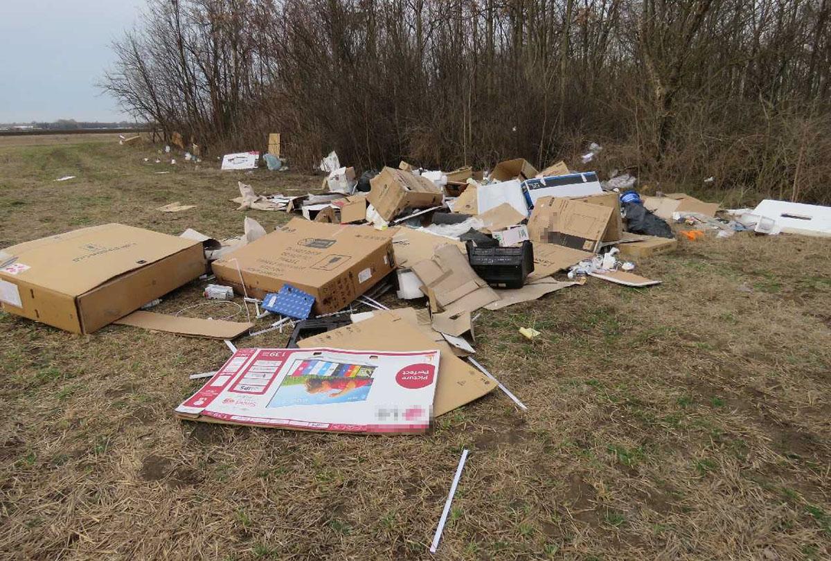 Április végéig 745 tonna illegálisan lerakott hulladékot szállított el a MÁV