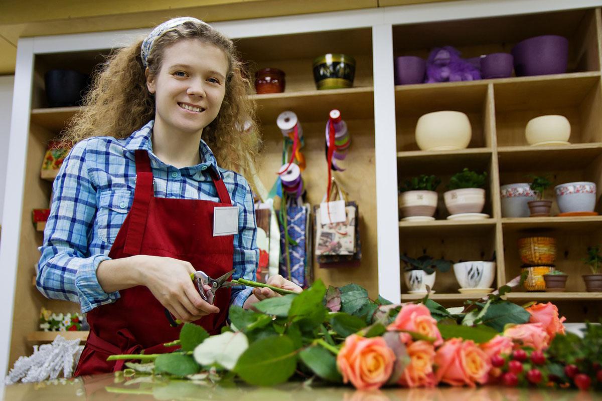 Készülnek a nőnapi csúcsforgalomra a virágüzletek