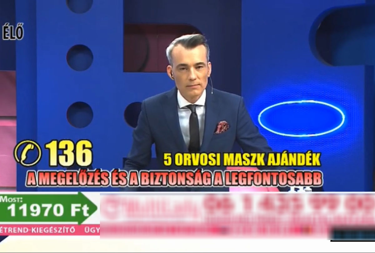 NMHH: tisztességtelen kereskedelmi gyakorlatot folytathatott az Ékszer TV