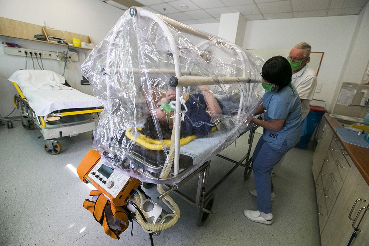 Országos tisztifőorvos: százzal nőtt a kórházban ápoltak száma
