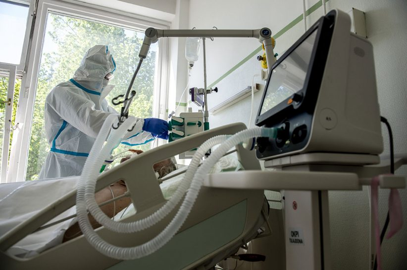 Pulmonológiai, Németországban, fertőzöttek, Franciaországban