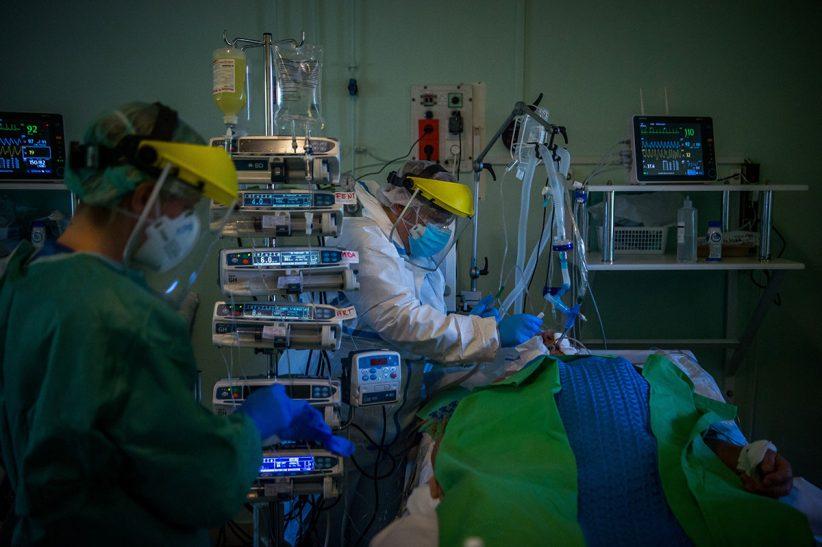 romániában, koronavírus, fertőzöttek, Franciaországban
