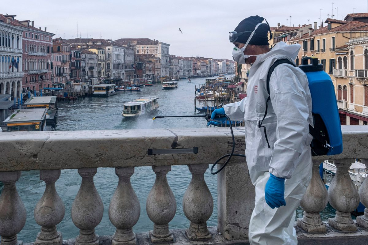 Olaszországban az új fertőzöttek hetven százalékát továbbra is Lombardiában szűrik