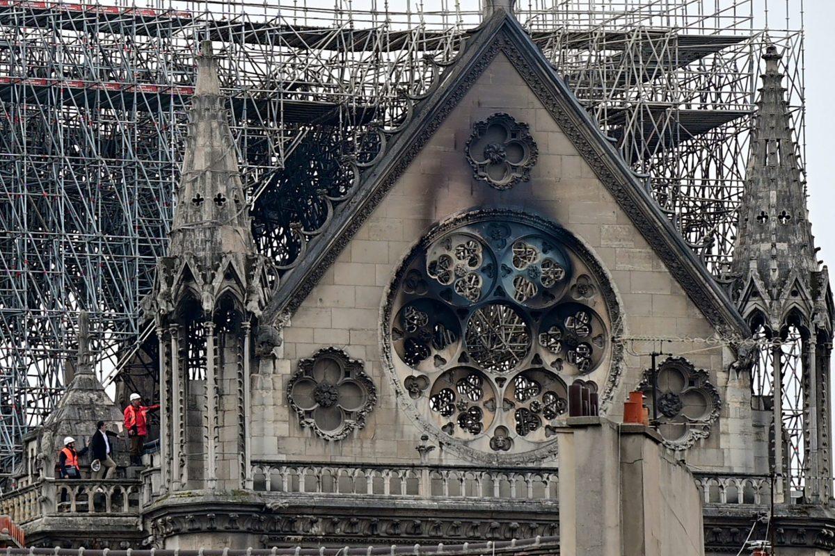 Notre-Dame: Harangozással emlékeznek meg a tűzvész egyéves évfordulójáról