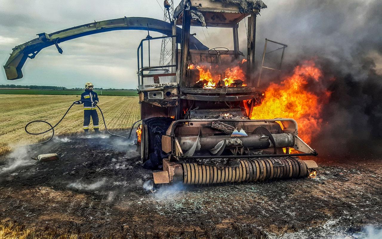 Előzzük meg odafigyeléssel a mezőgazdasági tüzeket!