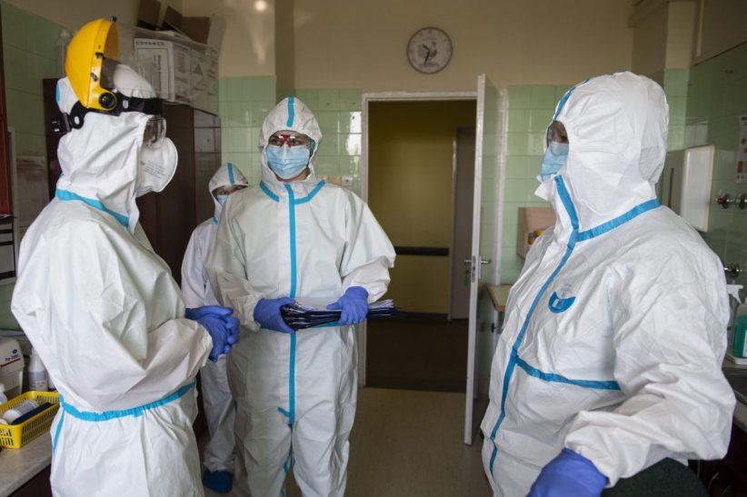koronavírus, fertőzöttek, Horvátországban, koronavírusos, fertőzöttek