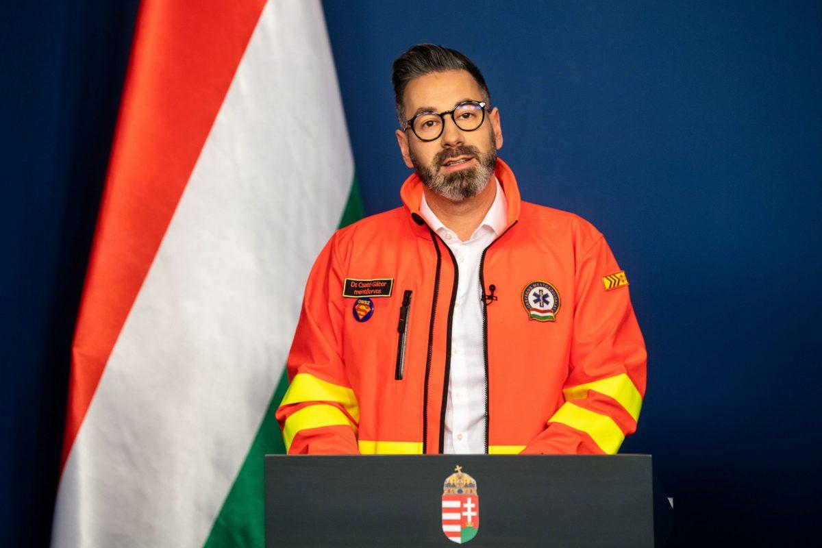 OMSZ-főigazgató: hat mentődolgozó fertőződött meg a vírussal