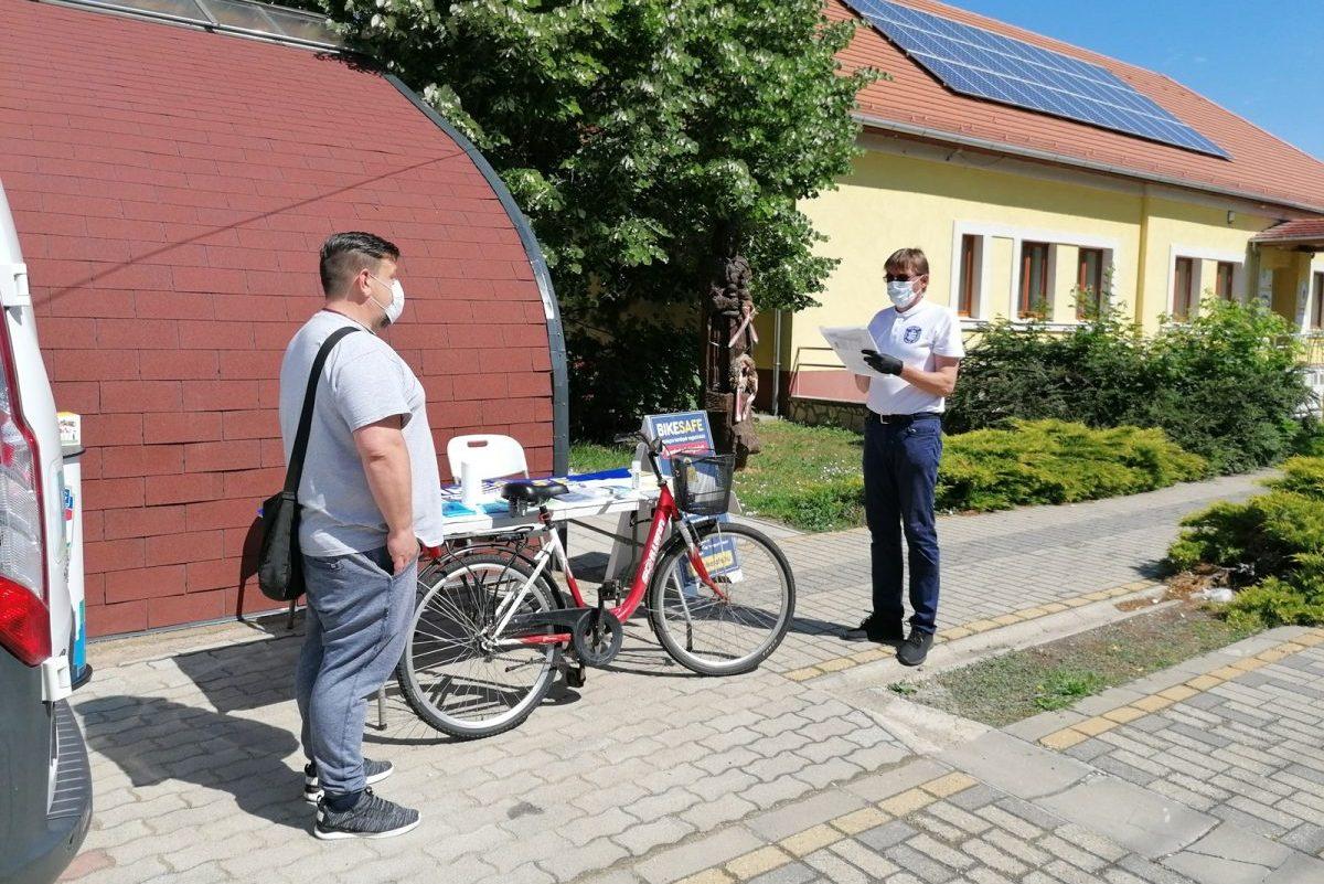 Kaszaperen tartott bűnmegelőzési tanácsadást a rendőrség