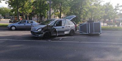Teherautó baleset, Békéscsaba