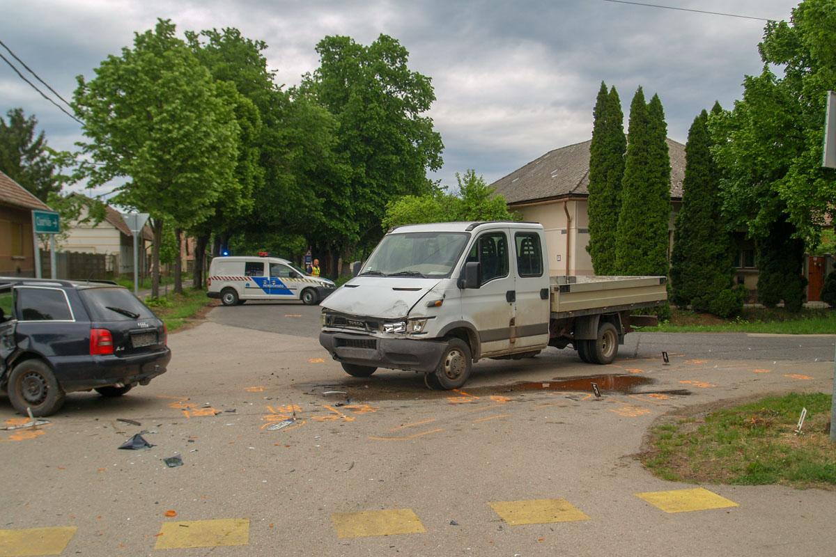 Gerendáson baleset, Békéscsabán csalás miatt intézkedtek