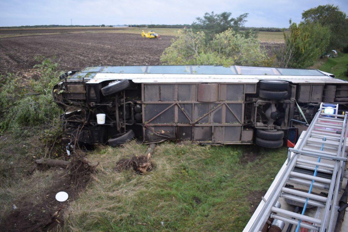 Súlyos buszbaleset ügyében történt vádemelés