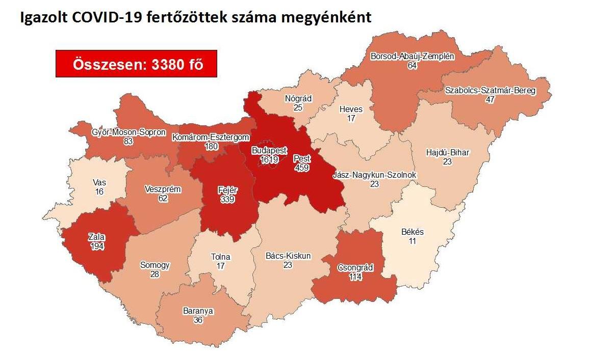 Ezért változott hirtelen a fertőzöttekre vonatkozó adat Békés megyében